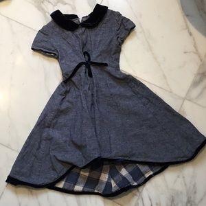 Isabel Garreton blue kids dress.